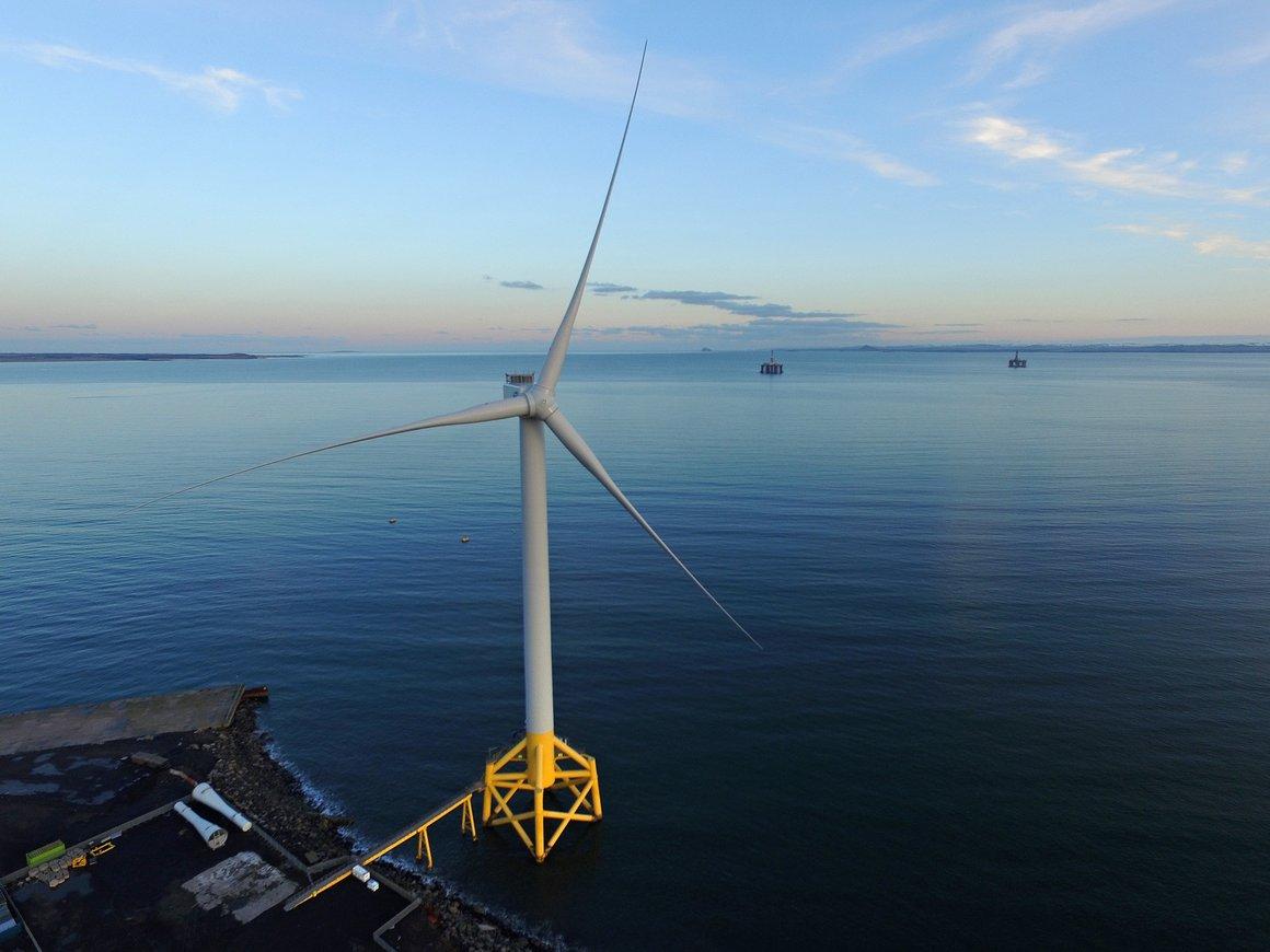 ORE Catapult 7MW Levenmouth Demonstration Turbine